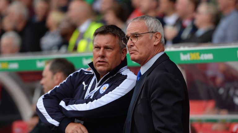 Craig Shakespeare is in charge at Leicester following Claudio Ranieri's exit