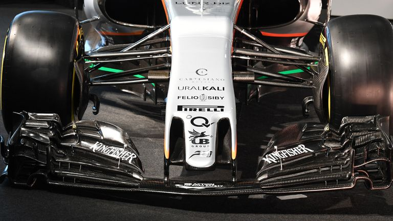 Introducing the Force India VJM10