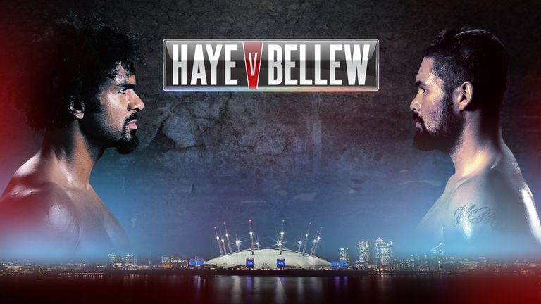Haye v Bellew, live on Sky Sports Box Office, March 4