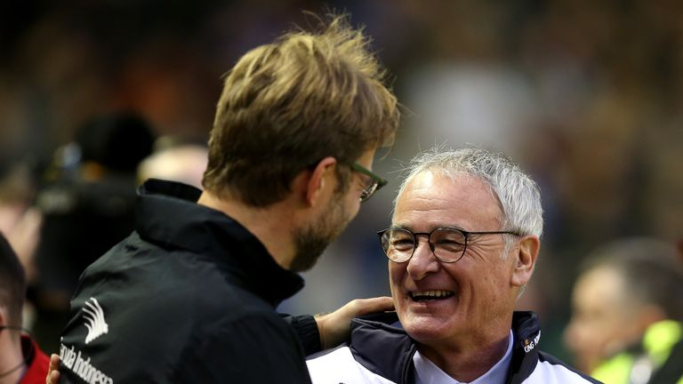 Liverpool boss Jurgen Klopp says Leicester's board were responsible for sacking Claudio Ranieri