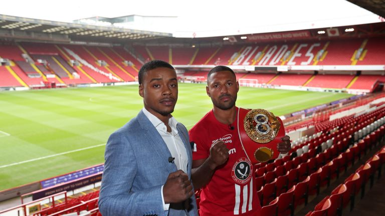 Kell Brook faces Errol Spence Jr on Saturday, live on Sky Sports Box Office