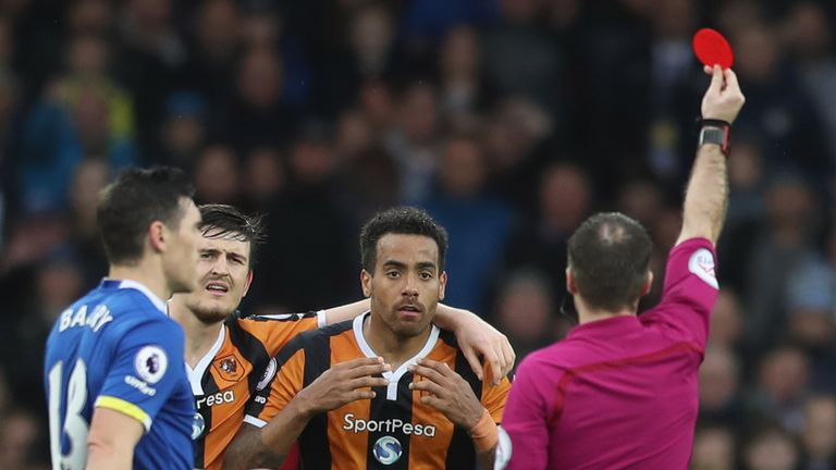 Hull are appealing Tom Huddlestone's red card