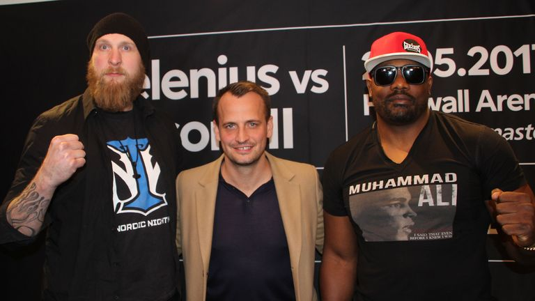 Dereck Chisora's bout with Robert Helenius is to be rescheduled