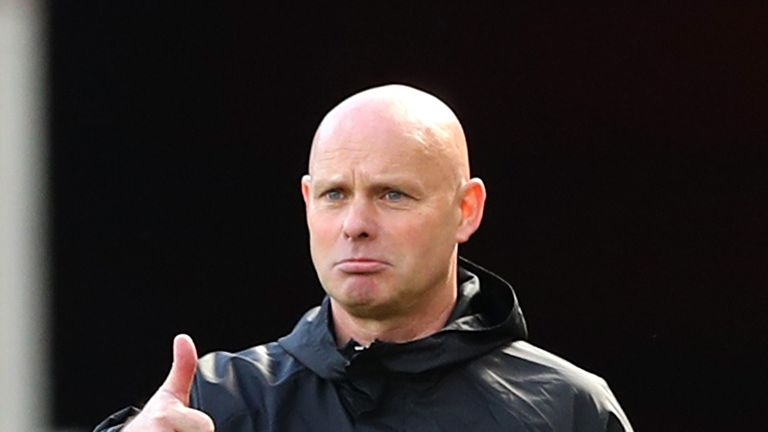 Steve Agnew has been tasked with securing Boro's top-flight status