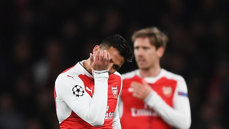 Arsenal will be without Champions League football this season