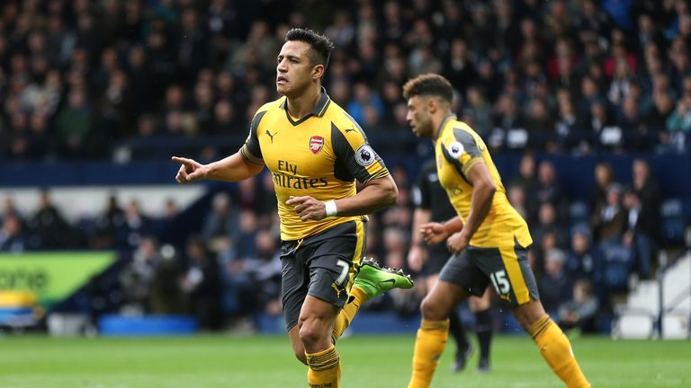 Alexis Sanchez has scored 18 goals in the Premier League this season