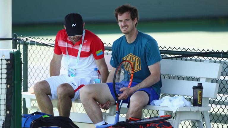 Andy Murray: 'I didn't lose because of his serve and volley game'