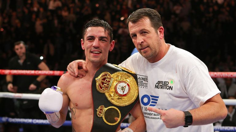 Jonas has sparred former world lightweight Anthony Crolla at Gallagher's Gym