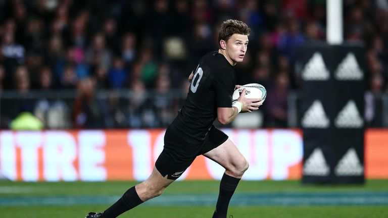 Beauden Barrett has developed into one of the best fly-halves in world rugby