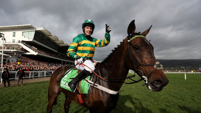Buveur D'Air was an impressive winner of last year's Champion Hurdle