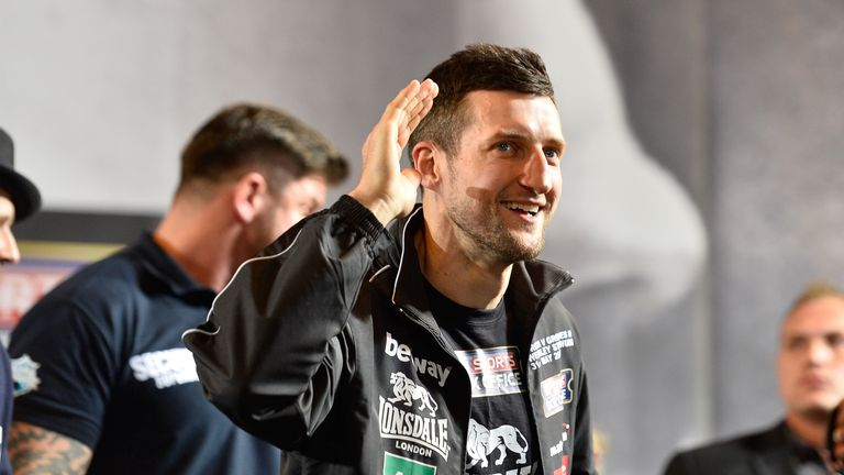 Froch was targeted by Golovkin after entering retirement