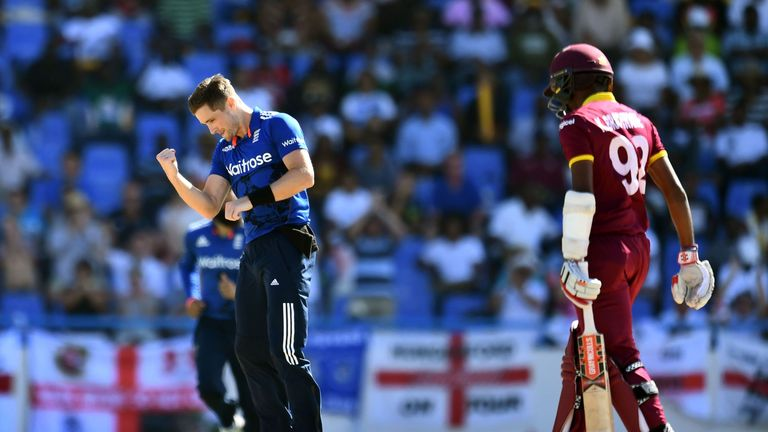 Chris Woakes was named man of the series in the the West Indies, but what score did Nasser Hussain give him?