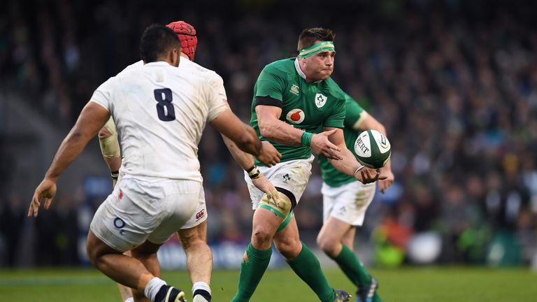 CJ Stander produced another impressive performance against England