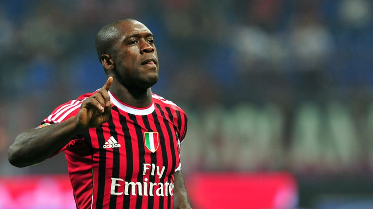 Clarence Seedorf is Collin's uncle