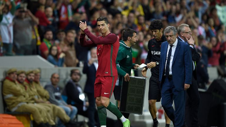 Cristiano Ronaldo's Madiera homecoming ended in defeat