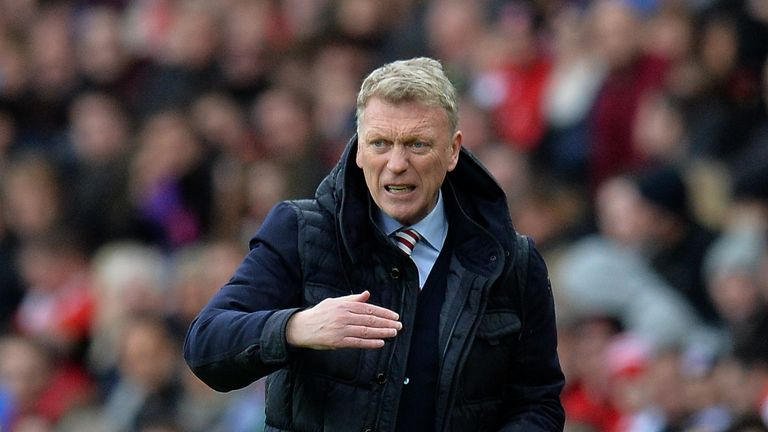 David Moyes' Sunderland have failed to win any of their last seven games