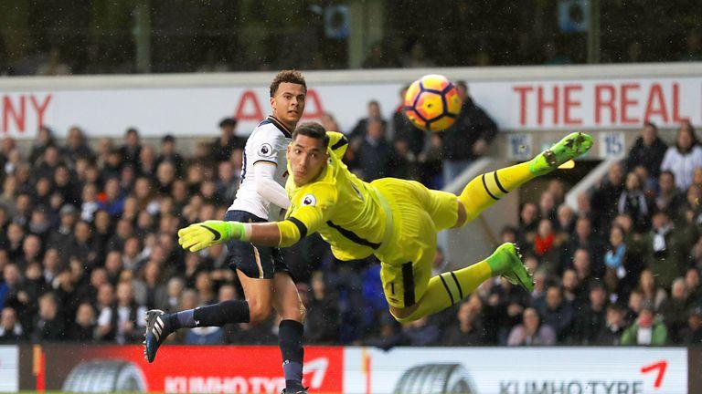 Dele Alli has scored 13 Premier League goals this season for Tottenham