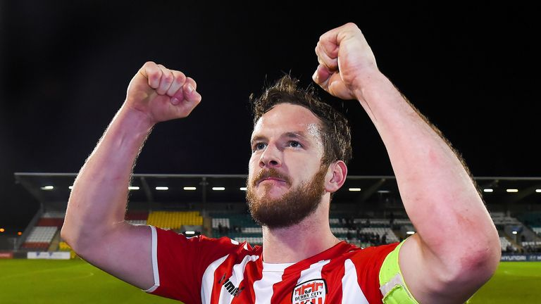 Derry City are mourning the loss of captain Ryan McBride