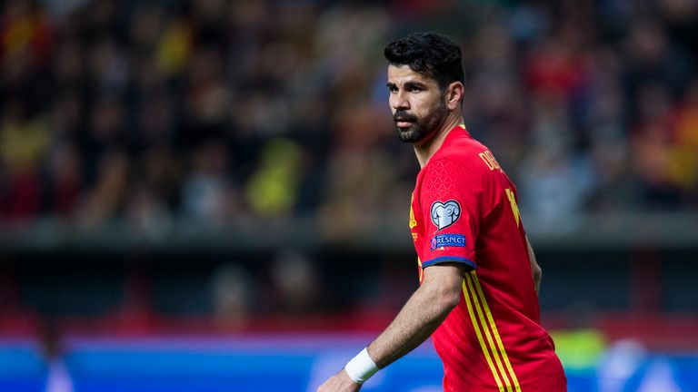 Diego Costa scored five goals in just 402 minutes of qualifying