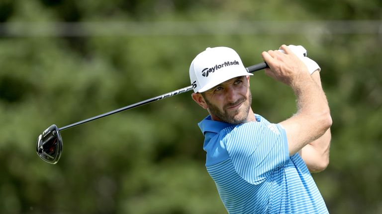 Johnson pulled out of the 2012 Masters due to a back injury