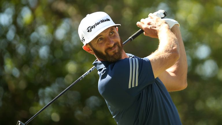 The secret to Dustin Johnson's success? He's no longer beating himself