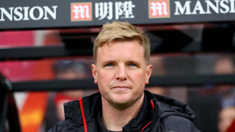 Eddie Howe was full of praise for Benik Afobe