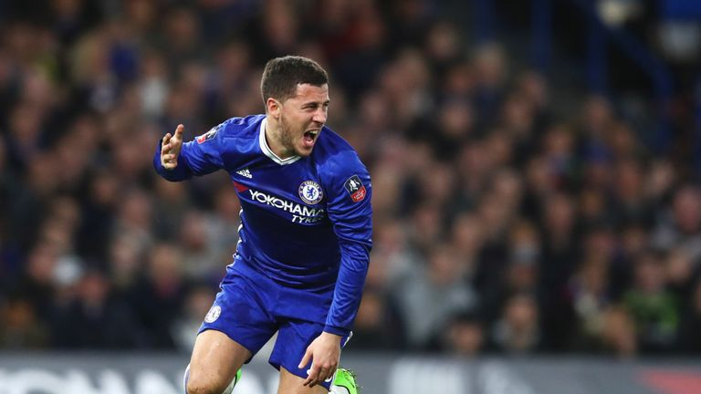 Eden Hazard is in contention to face Crystal Palace on Saturday
