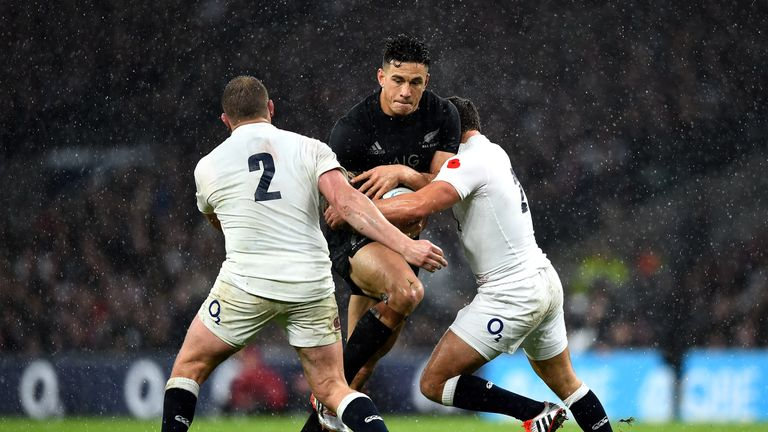 England and New Zealand last met at Twickenham in 2014