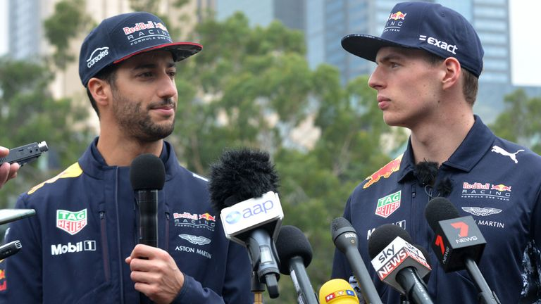 Ricciardo tops practice for Singapore Grand Prix