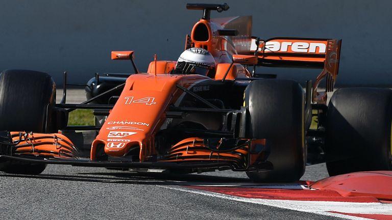 McLaren-Honda endured a difficult winter testing
