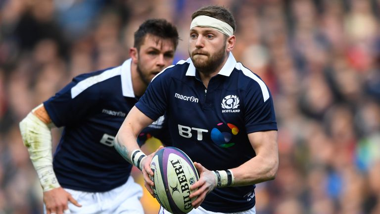 Finn Russell starred for Scotland during the Six Nations
