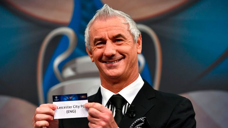 Champions League Final ambassador Ian Rush drew Leicester out to face Atletico Madrid
