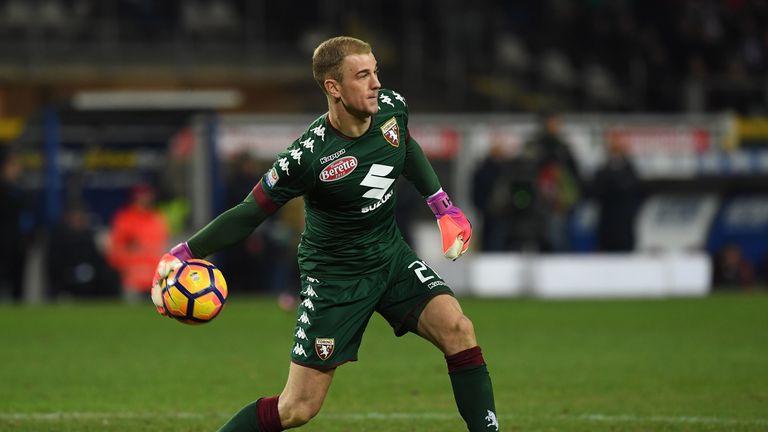 Joe Hart is on a season-long loan at Torino
