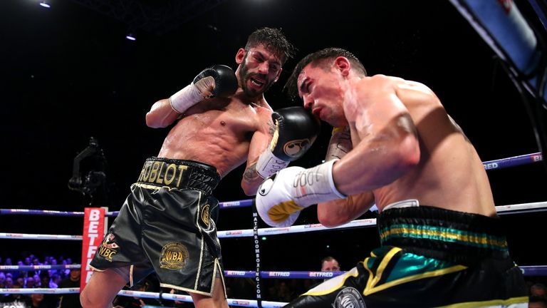 Jorge Linares beat Anthony Crolla on points last month