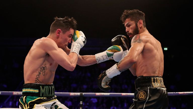 Crolla bravely fought back after being knocked down in the seventh round