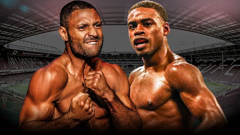 Kell Brook Predicts Thriller, Knockdowns By Him & Errol Spence
