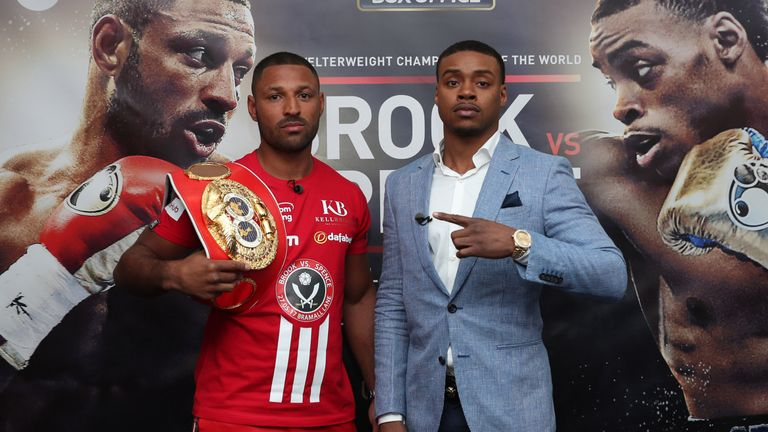 Kell Brook defends his IBF belt against Errol Spence at the top of the bill