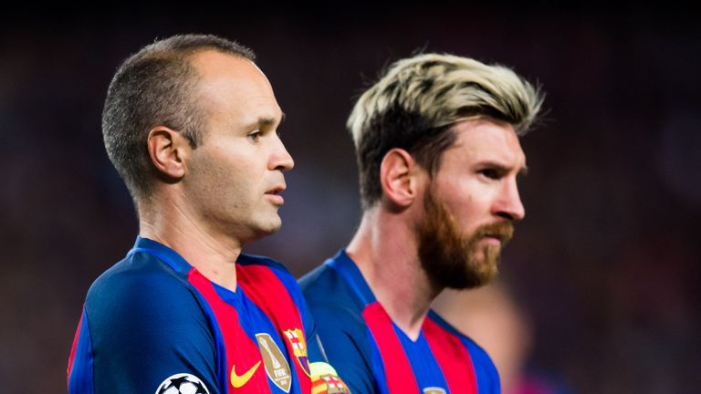 Barcelona hope Lionel Messi and Andres Iniesta will extend their contracts