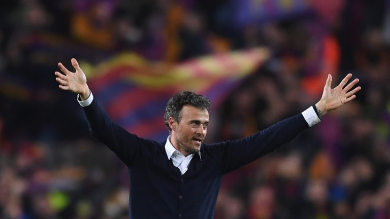 Luis Enrique brings the curtain down on his three-year tenure at Barcelona at the end of the season