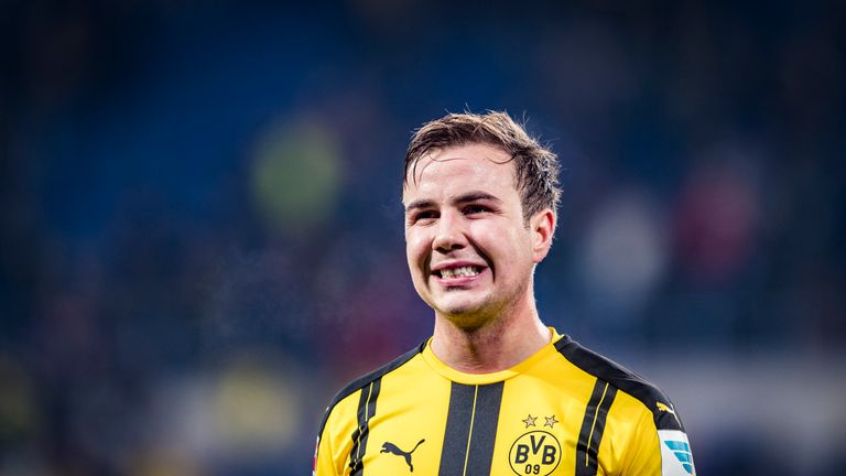 The 2016/17 season has been a tricky one for Gotze