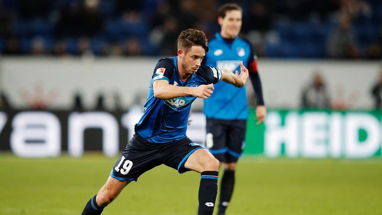 Mark Uth was on the scoresheet for Hoffenheim on Saturday