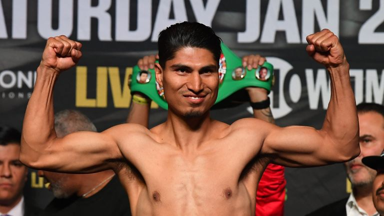 Mikey Garcia (pictured) is stepping up a weight division again