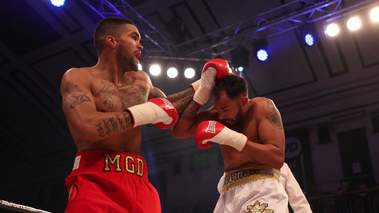 Miles Gordon-Darby overcame an experienced opponent in Jamie Ambler