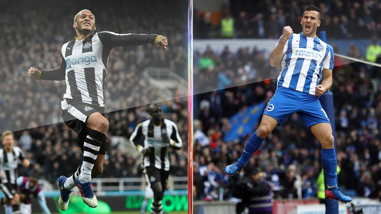Newcastle win again as Brighton's hopes are hit by loss at Forest