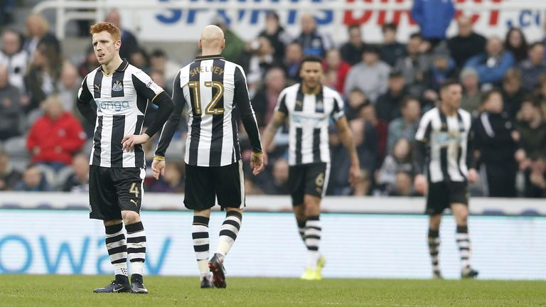 Newcastle suffered a home defeat by Fulham last weekend