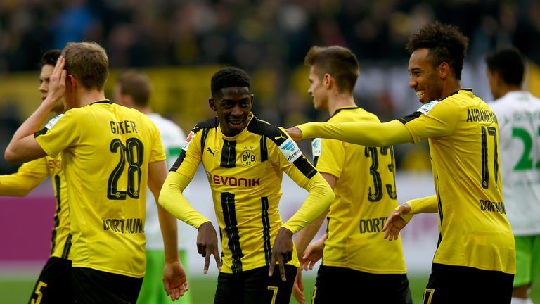 Dembele joined Borussia Dortmund in 2016 from Rennes