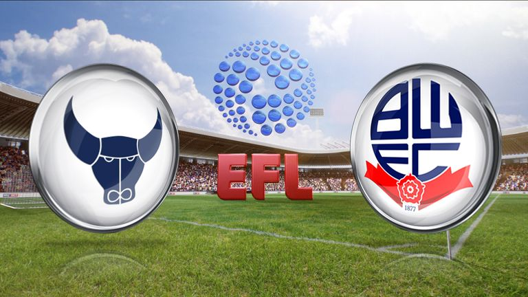 Watch the League One clash between Oxford United and Bolton from 7.30pm on Tuesday, live on SS1
