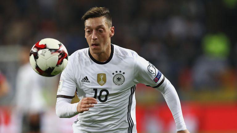 Mesut Ozil will not go up against Gareth Southgate's men