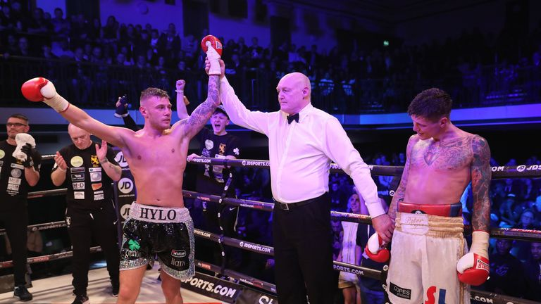 Paul Hyland Jr edged a close and hard-fought win over Peter Cope