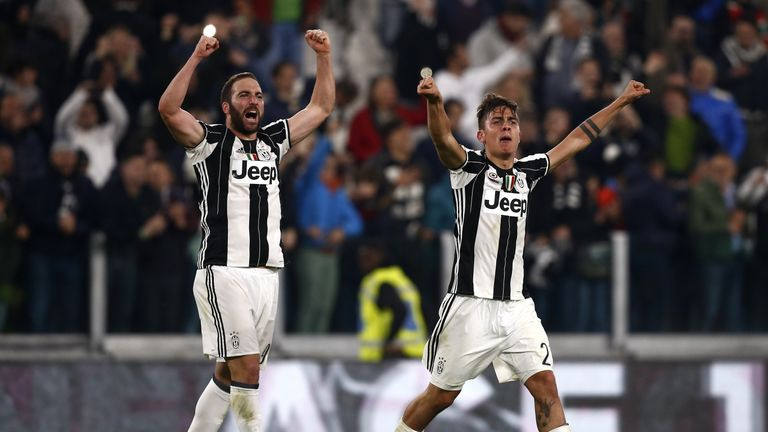 Paulo Dybala and Gonzalo Higuain: Formidable forward line